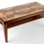 Burl Walnut Coffee Table