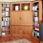Cherry Bookcase/Entertainment System