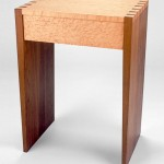 Dovetailed Walnut and Birdseye Maple End Table